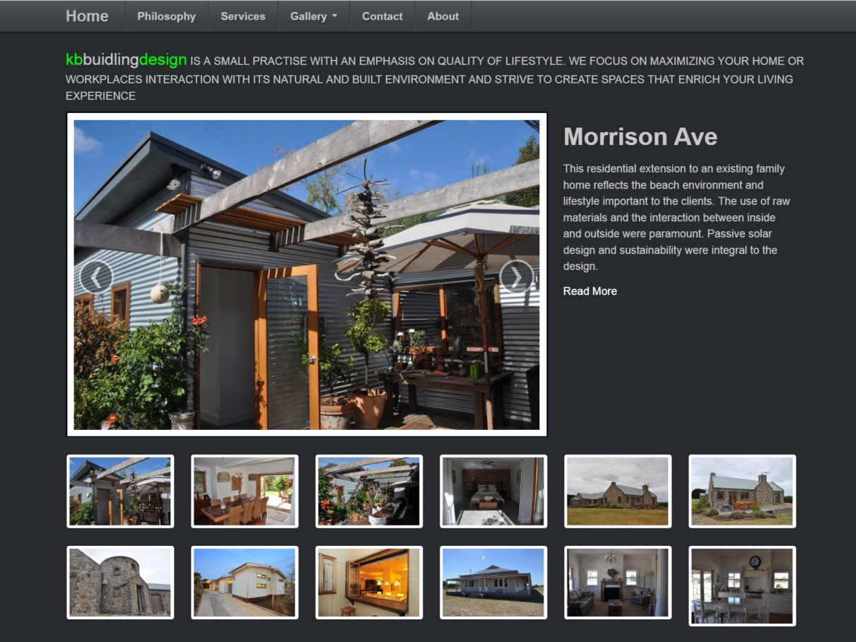 Home Page for KB Building Design